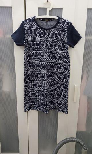 Aztec T-shirt Dress