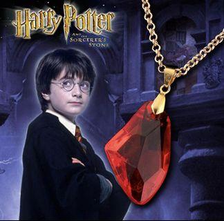 Harry Potter's Philosopher's Stone Necklace
