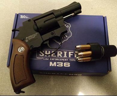 WG WINGUN M36 SHERIFF REVOLVER