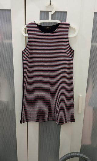 Stripes T-Shirt Dress