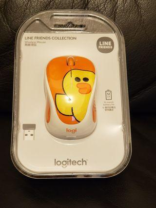 *NEW* Logitech Line Friends (Sally) Wireless mouse 無線滑鼠