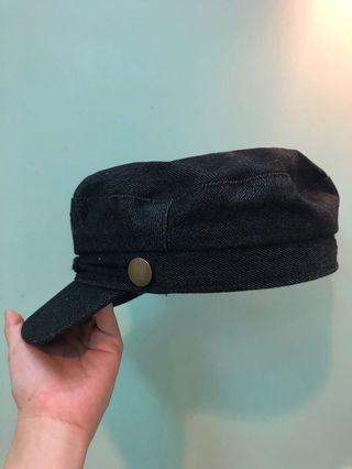牛仔布軍帽