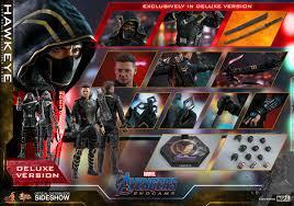 Hottoys Endgame Hawkeye Deluxe Version mms532訂單