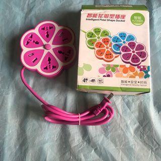 花瓣造型插座
