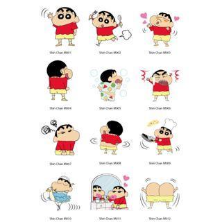 Mini Stickers - Shin Chan