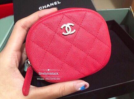 Chanel 圓形銀扣 Coins Bag