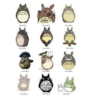 Mini Stickers - Totoro