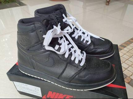 Air Jordan 1 High OG Perforated Black