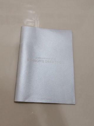 WTS Wanna One Seasons Greeting Diary