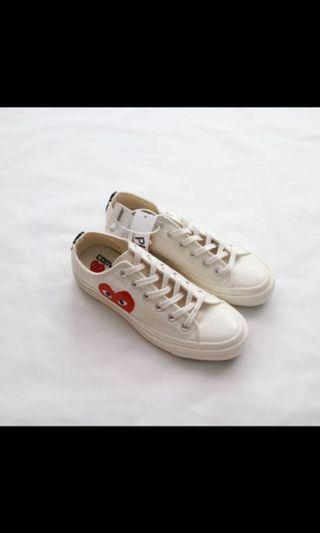 💫#6: converse CDG PLAY high cut & low cut sneakers