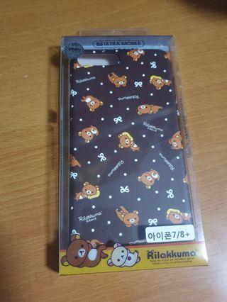 Brand New iPhone 7/8 Plus casing Rilakkuma