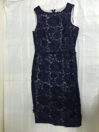Coast lace dress