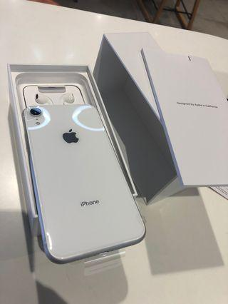 🚚 New iPhone XR 128 GB white color