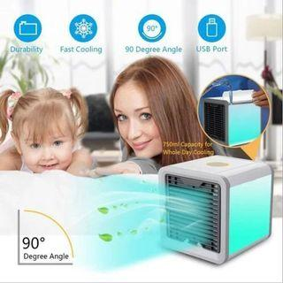 Cooler humidifier office air cooler dormitory mini portable fan -intl