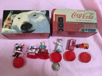 中古 Coca Cola Oldies Figure Collection 可口可樂