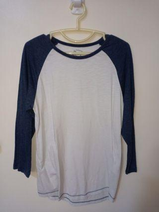 SPAO Long Sleeve Women's Shirt Blue