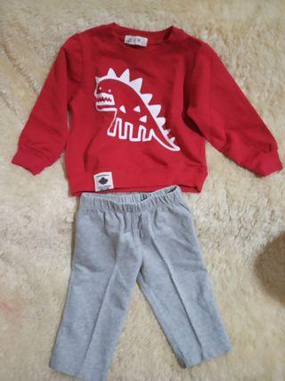 Sweater anak dan celana import Setelan Anak
