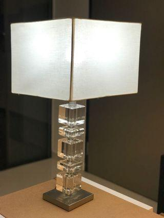 Zara Home Crystal Cubes Lamp