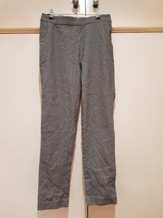 SABA Houndstooth Tapered Pants Size S/8