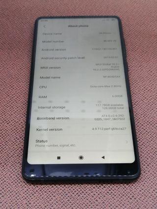 小米 Mi Phone Mi Mix 2S 6GB Ram 128GB Black