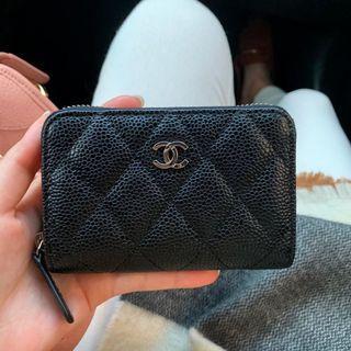 Chanel零錢包荔枝皮頂級款1:1