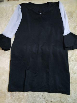 Outfit Atasan Yoenik apparel hitam bagus tebal