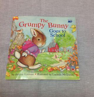 🚚 英文原文童書(The Grumpy Bunny Goes to School)
