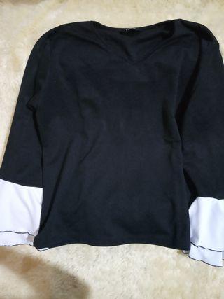 Sale Atasan yoenik apparel murah hitam bagus