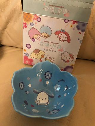 7-11 Sanrio PC狗碗 (全新連盒)