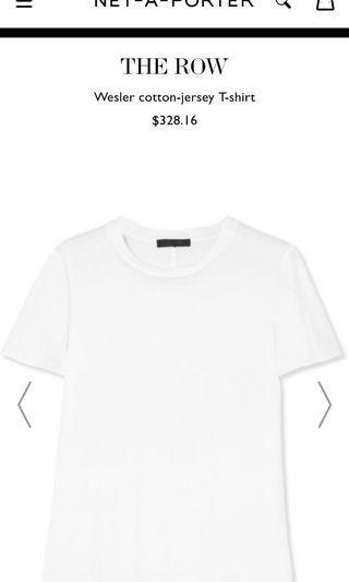 The Row white T shirt