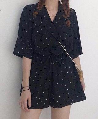 🚚 夏季韓版短袖連身褲