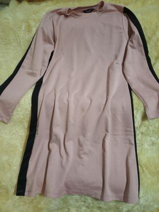 Atasan salem yoenik apparel tebal list hitam murah