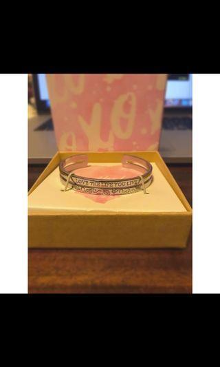 Lovisa Silver Engraved Bracelet