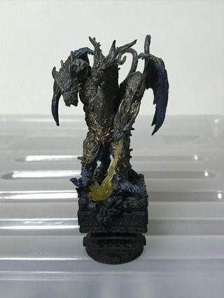 MegaHouse Godzilla Final Wars Chess Piece Collection Keizer Ghidorah (Chase/Black King)