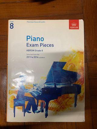 ABRSM Piano Exam Pieces Grade 8 (2013-2014)