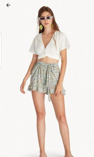 Crop top, baju pantai, beach top,