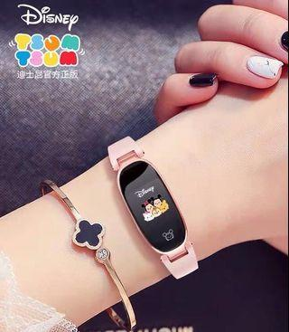 [Instock] Brand New Authentic Disney Tsum Tsum Smart watch fitness tracker wearable technology smartwatch suitable for kids