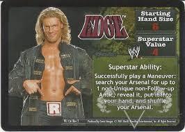 🚚 WWE Raw Deal Revolution - Edge Set