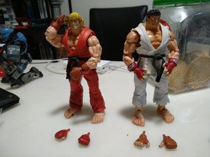 Street Fighter Ryu and Ken