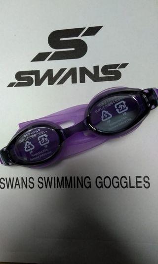 全新 日本製造 SWANS 牌子 泳鏡