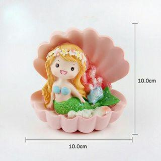Shell Mermaid Cake Deco