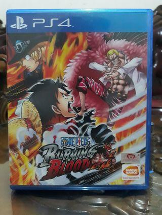 Bluray Disc/BD kaset PS4 One Piece Burning Blood