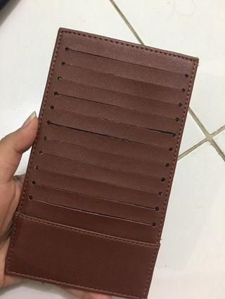 """Card Holder Brown """"New"""""""
