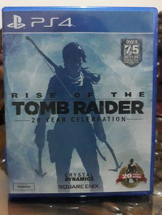 Bluray Disc/BD kaset PS4 Rise of the Tomb Raider