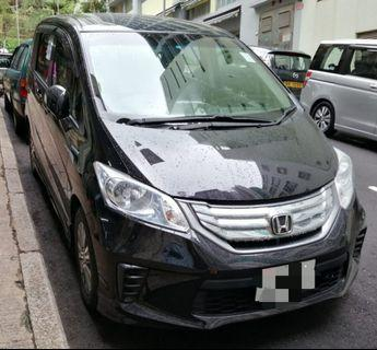 HONDA FREED 2011運能