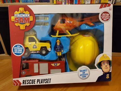 全新Fireman Sam Rescue Playset