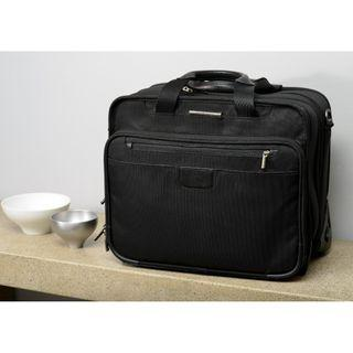 "Briggs & Riley 15.4"" Executive Expandable Rolling Brief, KR306X-4"