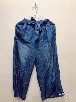極新🎉牛仔寬褲