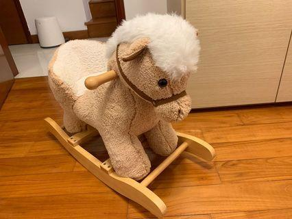 🚚 Bed Bath & Table Rocking Horse - Very good condition