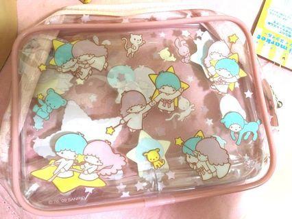 Little Twin Stars Sanrio Original 小型化㛇 收納袋 Kiki & Lala